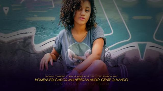 """Conheça o som """"Poder Feminino Crew"""" [PFC] da pernambucana Mina Sagaz"""
