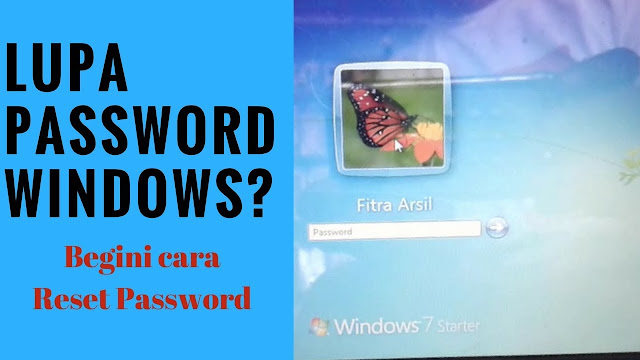 Lupa Password Windows 7