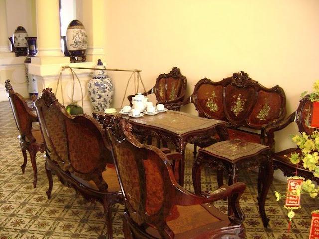 Đồ nội thất cổ của nhà công tử Bạc Liêu
