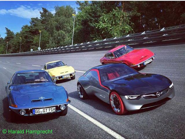 Die Erfolgsmodelle von Opel