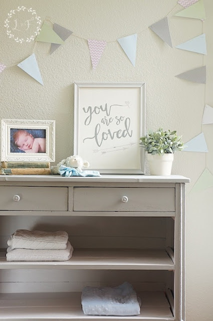 Baby Changing Dresser Lost and Found Decor Little Lamb Tones For Tots