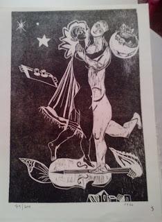 Sally Weintraub xilografías