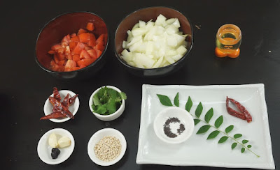 Ingredients-for-kara-chutney