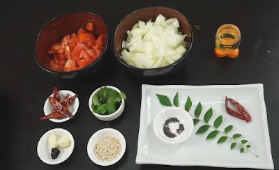 Ingredients-for-kara-chutney