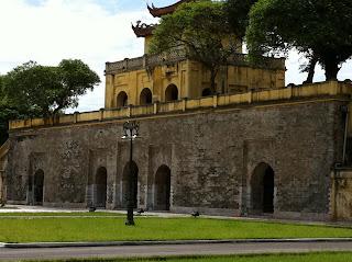 Palacio en la Ciudadela de Hanoi
