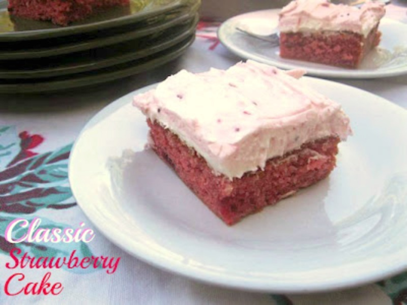 Cooking With K A Southern Classic Strawberry Sheet Cake With