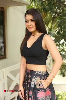 Actress Rashi Khanna Pictures at Hyper Movie Interview 0140