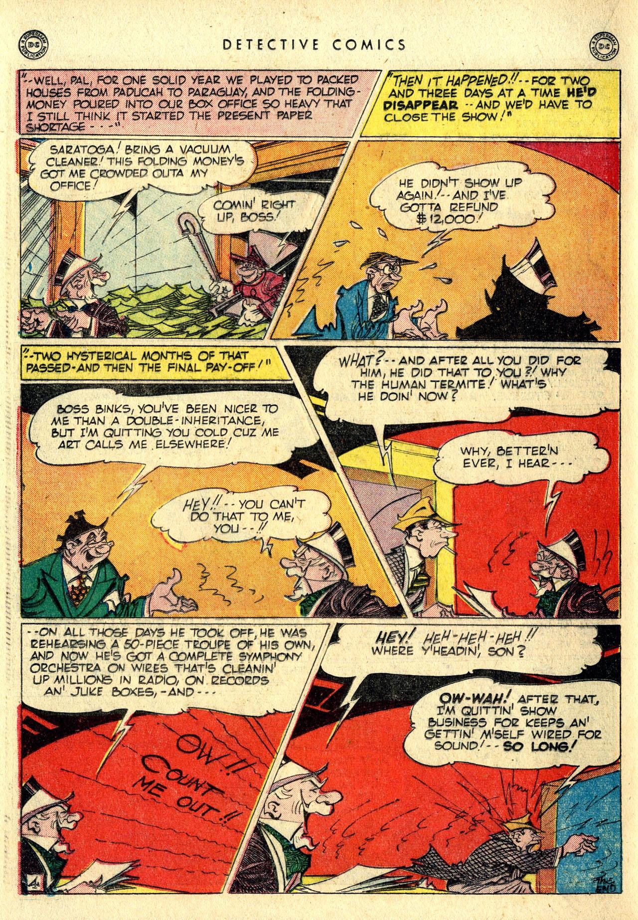 Read online Detective Comics (1937) comic -  Issue #116 - 36