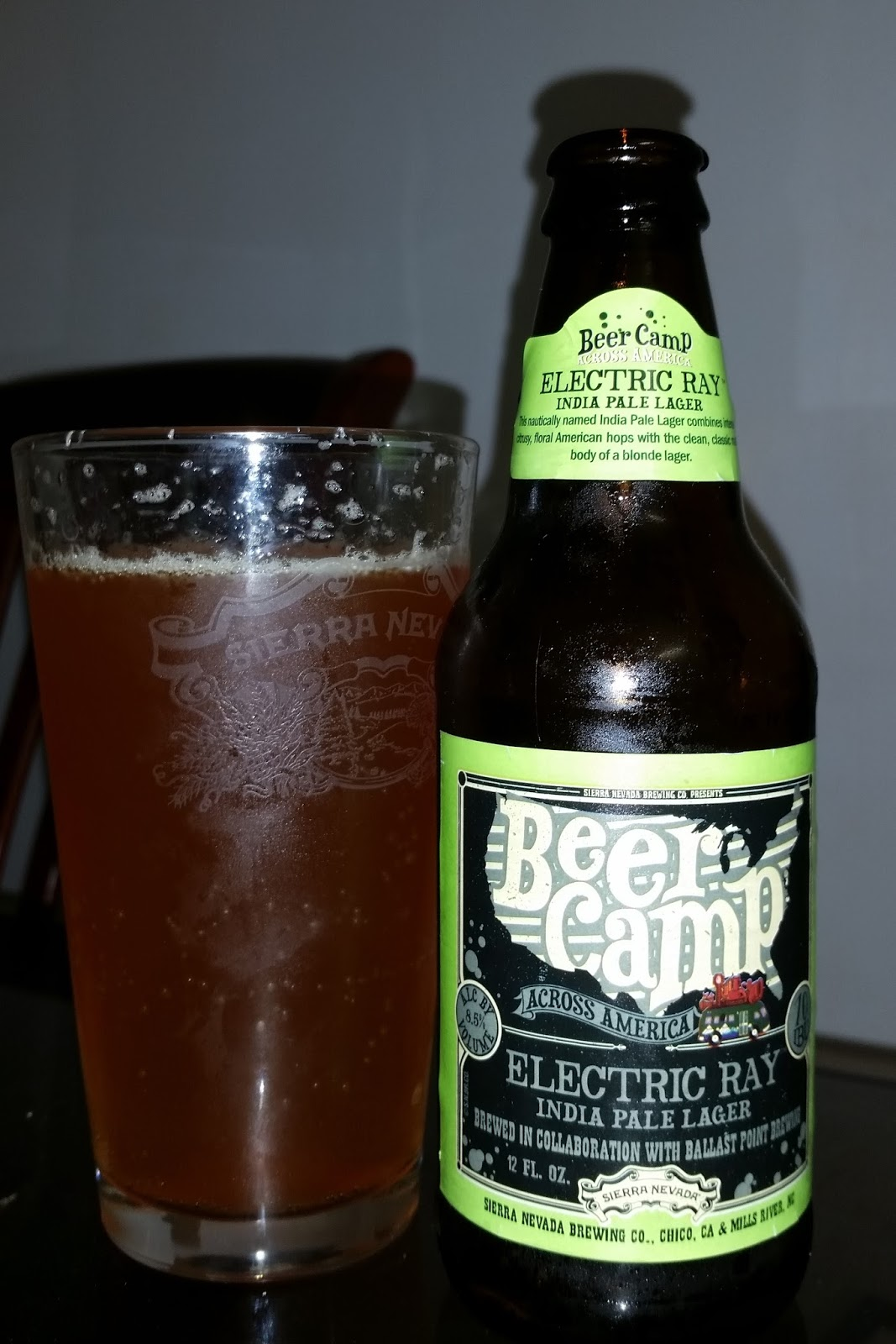 Sierra Nevada Beer Camp Electric Ray