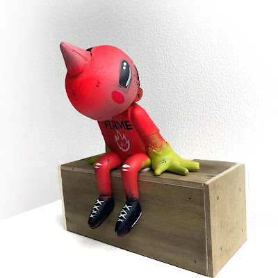 Ready For Flight Flame Edition Resin Figure by Sentrock x Galerie F