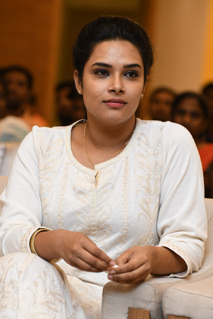 Hari Teja Beautiful Closeup Face Photos
