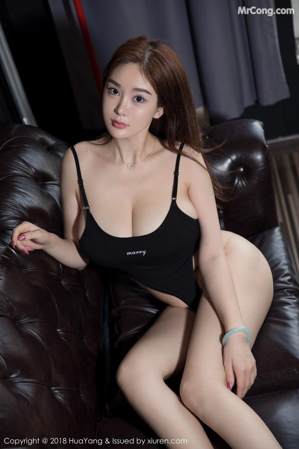 Image HuaYang-2018-08-09-Vol.068-Silvia-MrCong.com-016 in post HuaYang 2018-08-09 Vol.068: Người mẫu 易阳Silvia (41 ảnh)
