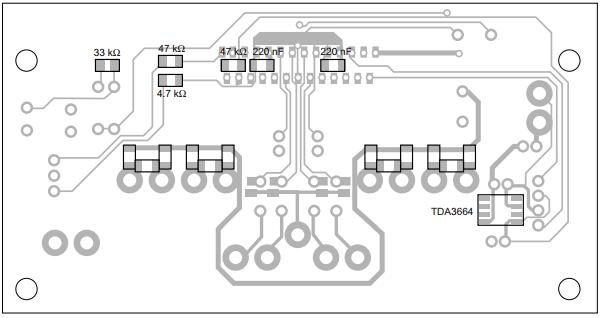 4 x 45 w power amplifier