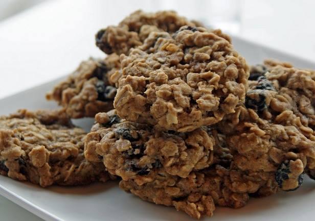 resepi biskut oat