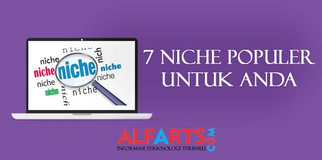 Niche Blog Terbaik dan Populer