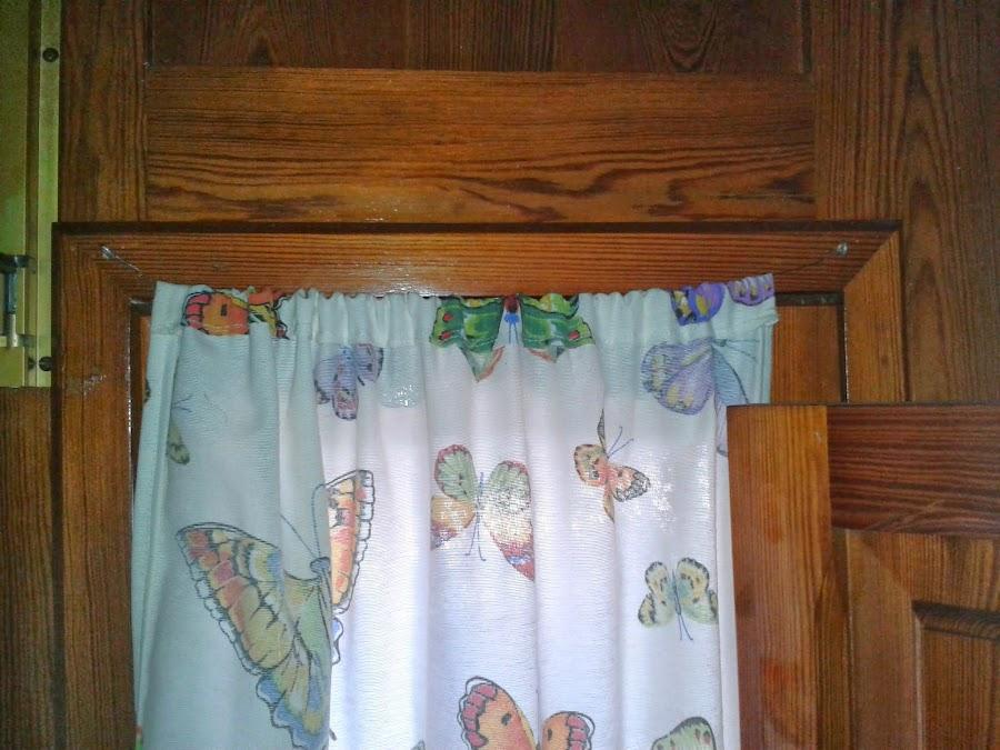 Costura manualidades for Bases para colgar cortinas