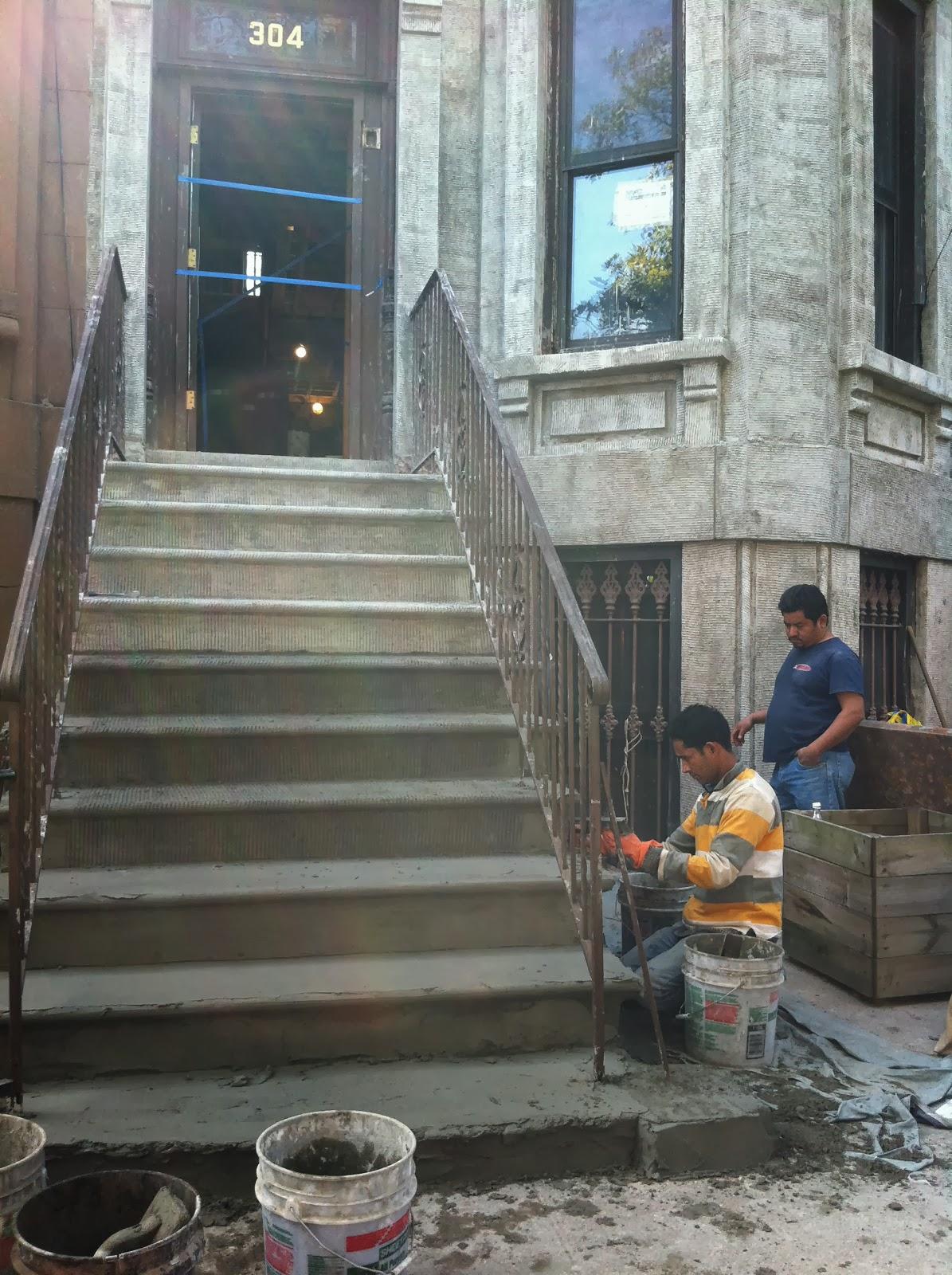 High Tech Construction Co Brownstone Restoration