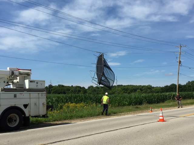 We Energies News: Power outage caused by unexpected object