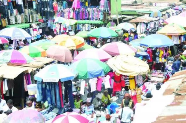 Yaba market, Lagos