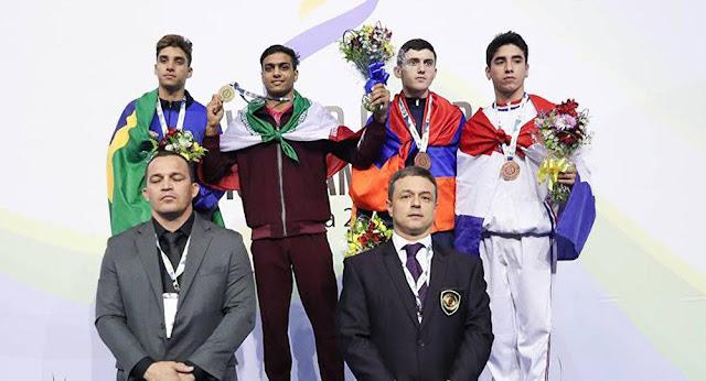 Deportista de Artsaj se convierte en campeón del mundo en Brasil