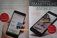 """Logo Smartphone Android 7.0,  Touchscreen da 5"""" è il tuo regalo di Benvenuto"""