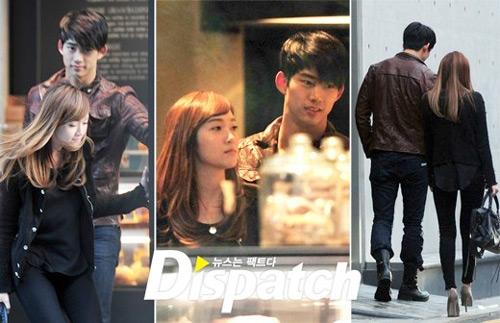 Taecyeon và Jessica