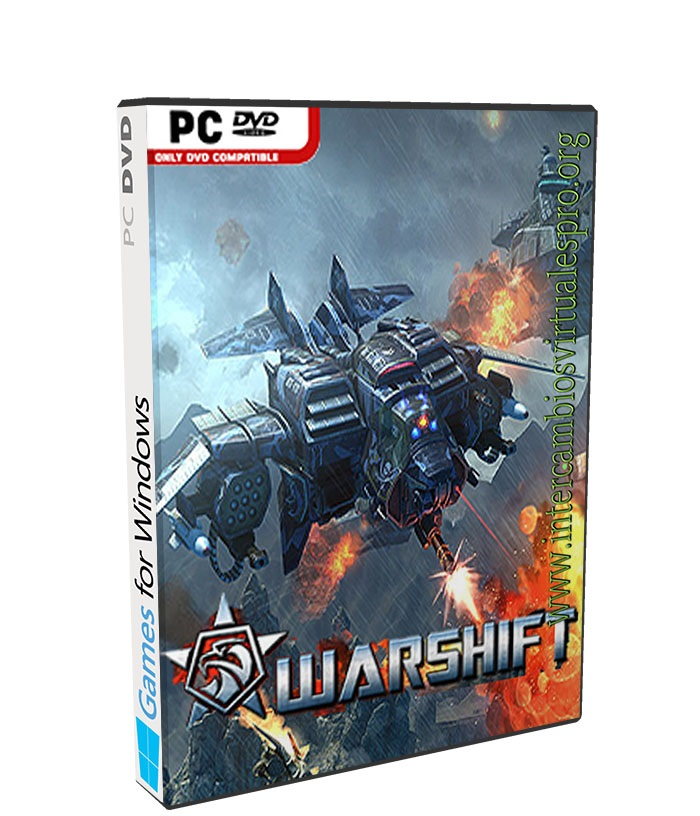 WARSHIFT poster box cover