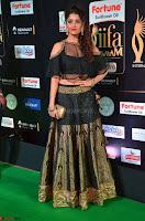 Ritika Singh in a Ethnic Deep Neck Dark Green Choli Ghagra at IIFA Utsavam Awards March 2017 ~ 018.JPG
