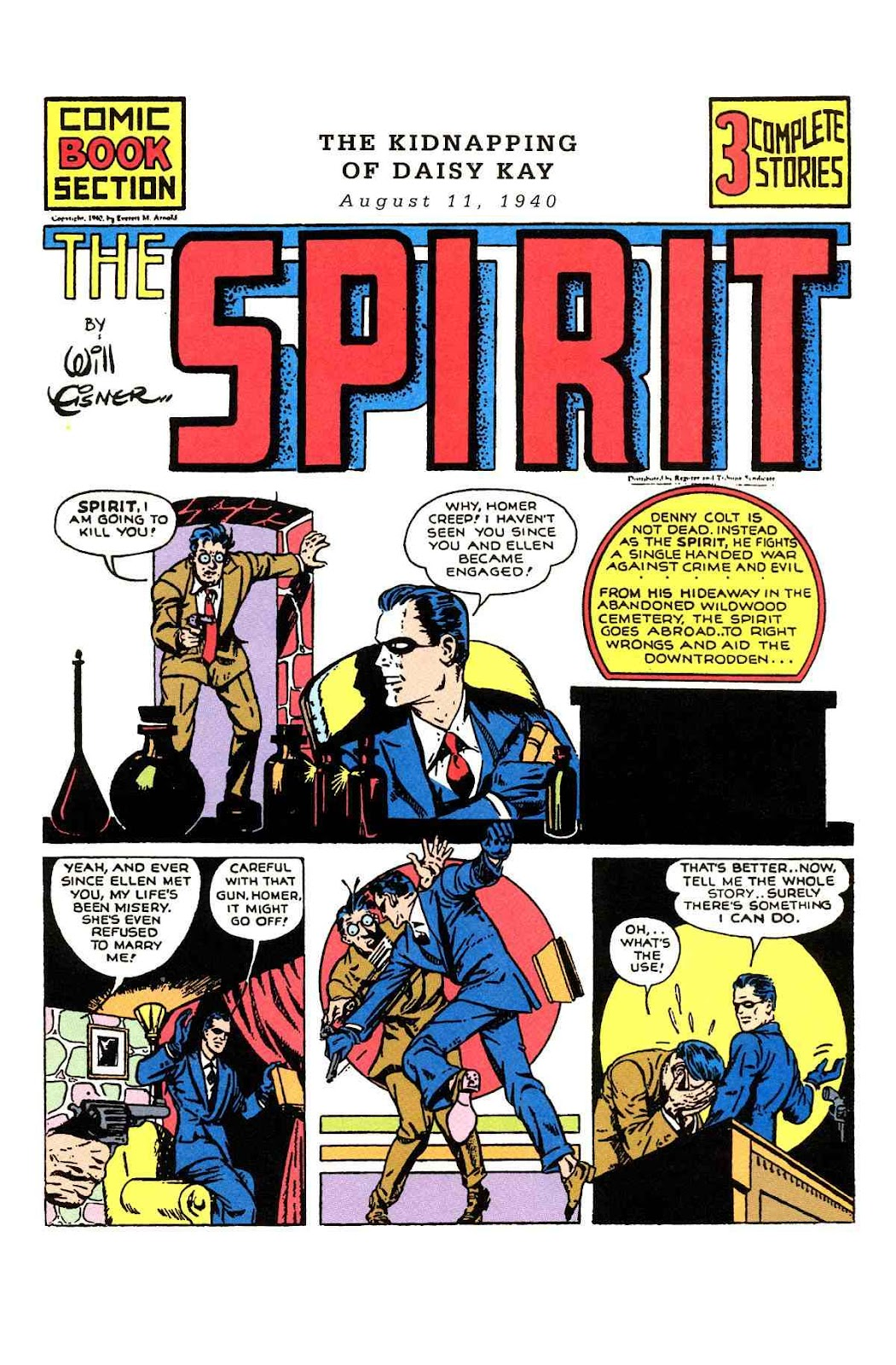 Read online Will Eisner's The Spirit Archives comic -  Issue # TPB 1 (Part 1) - 72