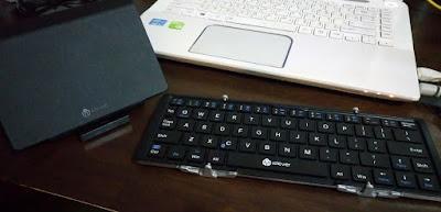 携帯型キーボード
