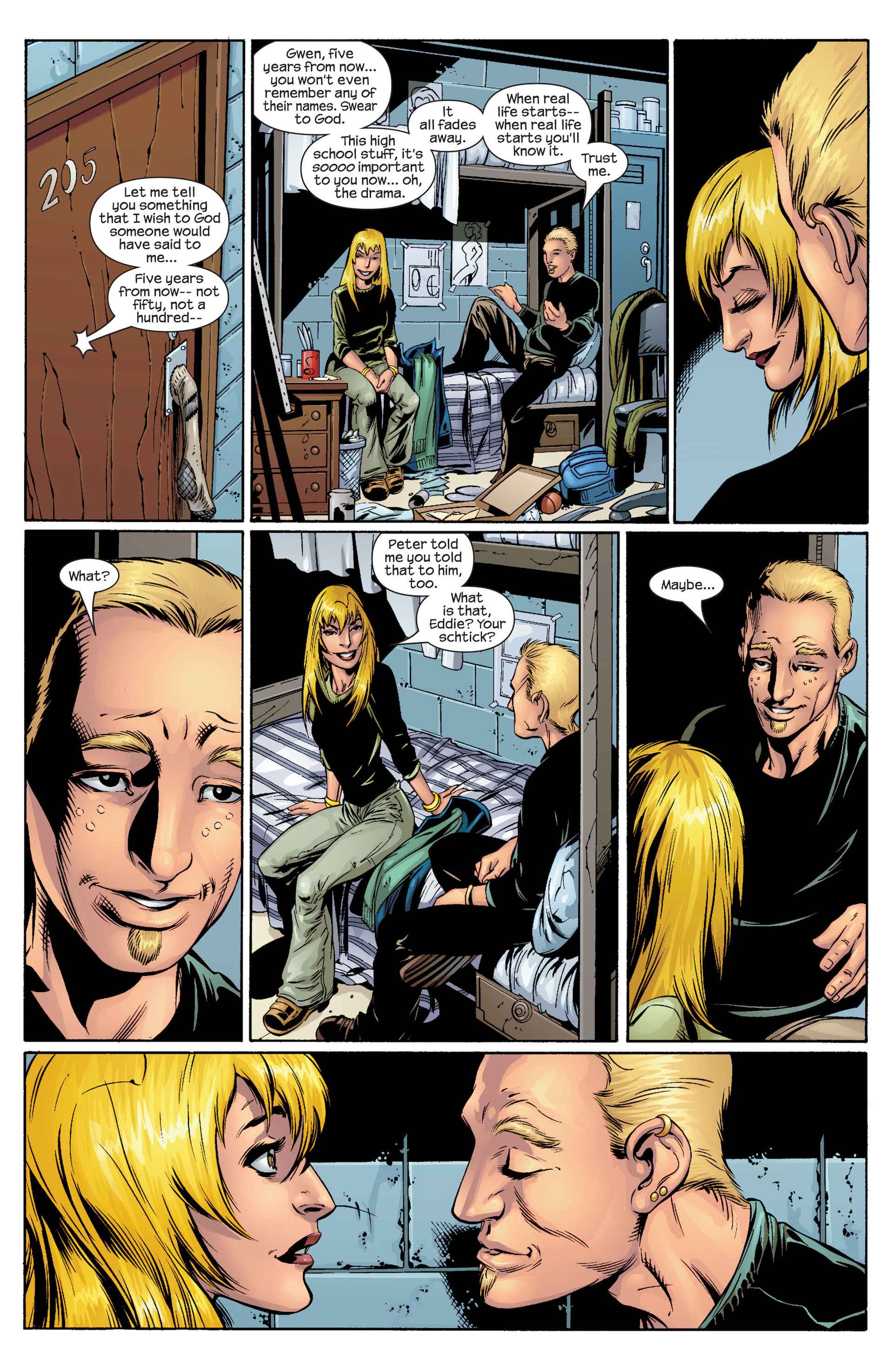 Read online Ultimate Spider-Man (2000) comic -  Issue #36 - 3