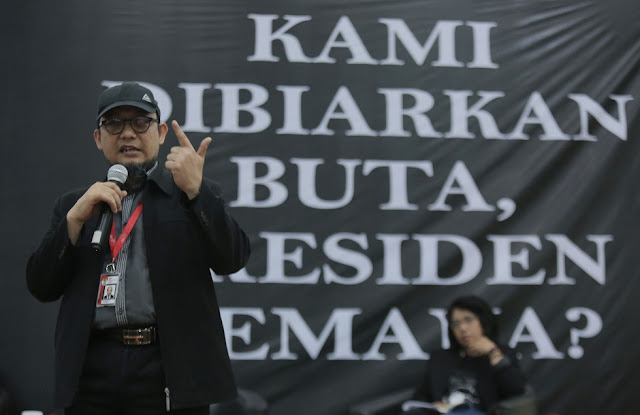 Rezim Jokowi, Merajalelanya Korupsi dan Butanya Mata Novel Baswedan