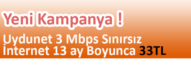 üç mbps internet sınırsız