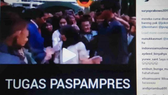 Turunkan Dua Jari, Gerindra: Itu Paspampres atau Bodyguard