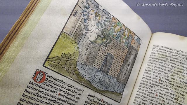 Melusine, Biblioteca Real de Bélgica - Bruselas, por el Guisante Verde Project