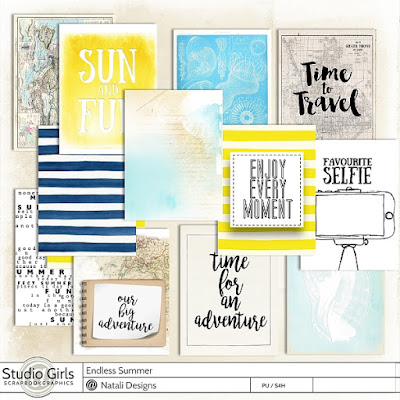 http://shop.scrapbookgraphics.com/Endless-Summer-Journaling-Cards.html
