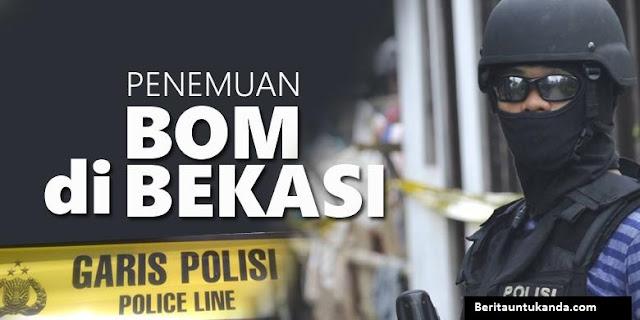 Bom di Bekasi Rencananya akan Diledakkan di Istana Negara