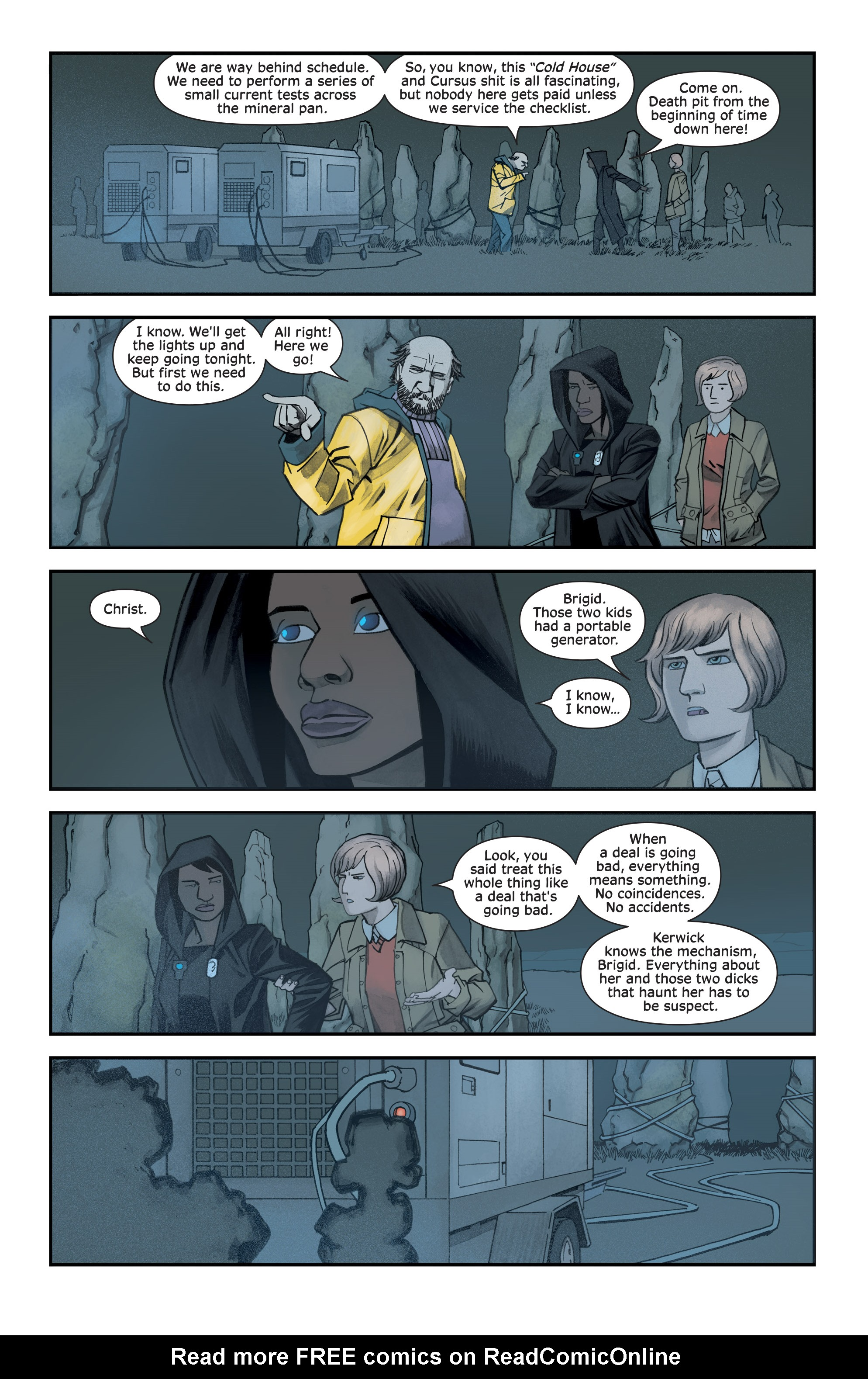 Read online Injection comic -  Issue #13 - 15