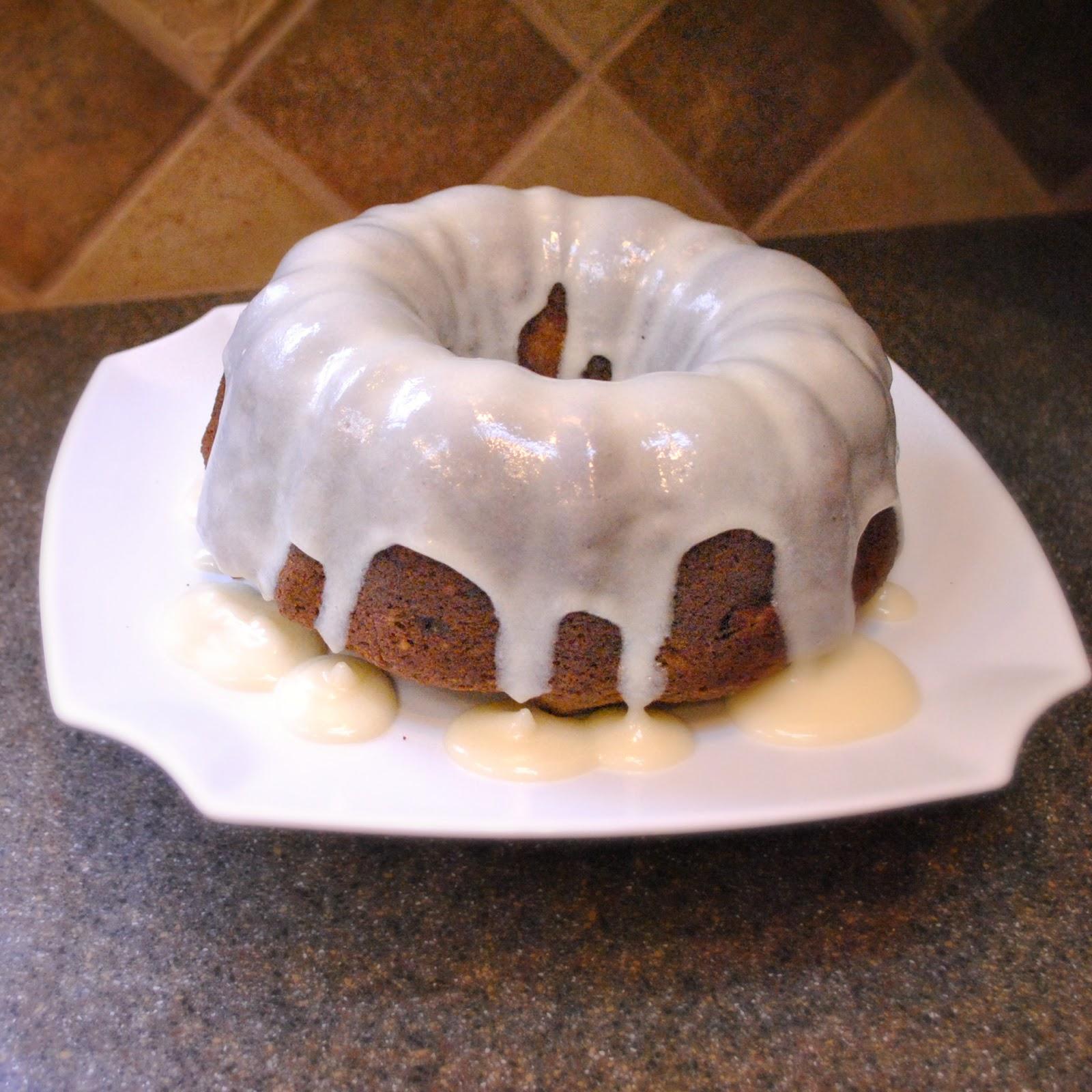 Homemade By Holman Peach Spice Cake