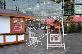 Design & Genuss - Weihnachtsmarkt between Hauptbahnhof and Kanzleramt (Washingtonplatz), Berlim