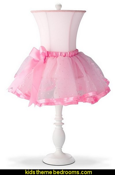 ballet tutu table lamps