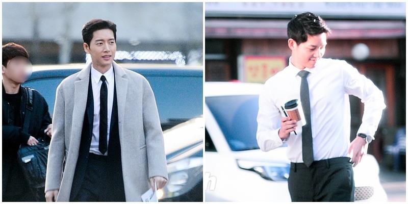 Fan tá hỏa không chọn nổi Song Joong Ki hay Park Hae Jin đẹp trai hơn