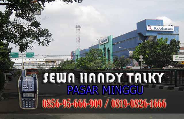 Pusat Sewa HT Pasar Minggu  Lama Pusat Rental Handy Talky Area Pasar Minggu