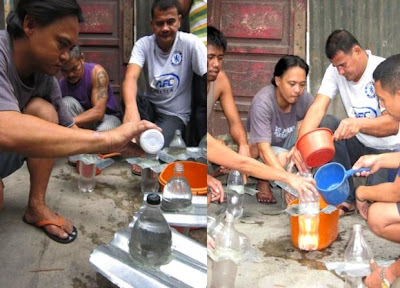 """ABES-SP: Comunidades filipinas recebem """"lâmpadas"""" de garrafa PET"""