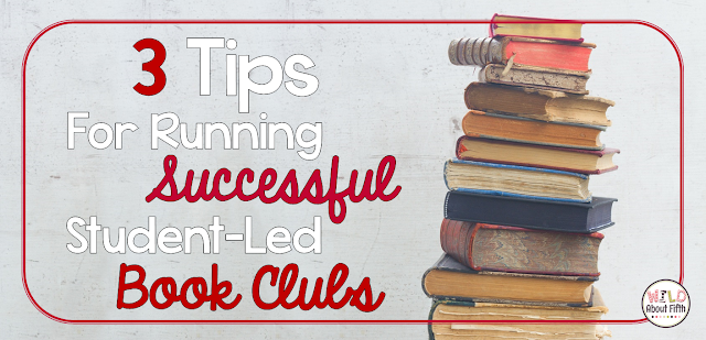 three tips for running successful book clubs in the classroom