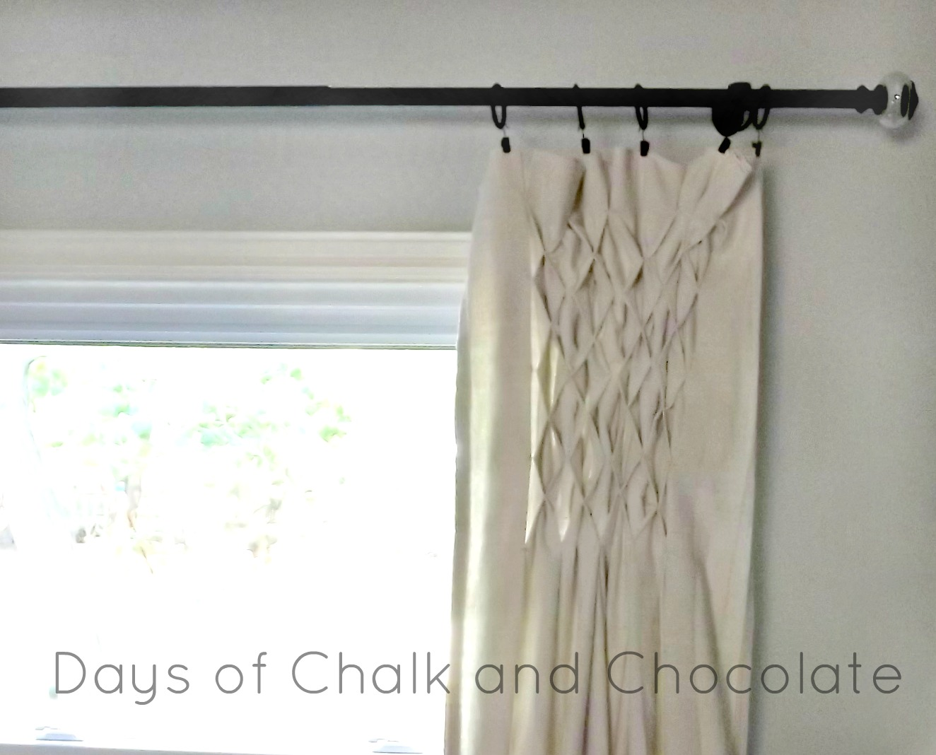 Diy Smocked Curtains Made From Drop Cloths Let S Lead With A Picture Shall We