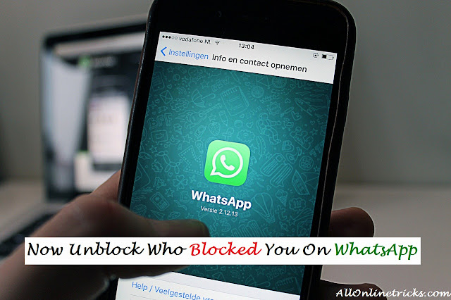 Now Unblock Yourself From Someone Who Blocked You On WhatsApp