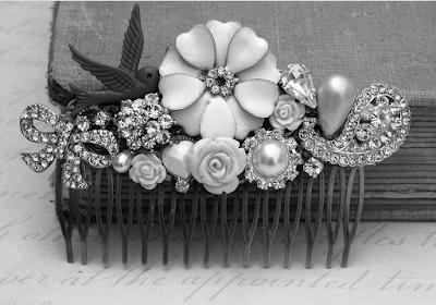 old hair accesory