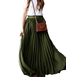 http://fr.shein.com/Army-Green-Pleated-Maxi-Skirt-p-251239-cat-1732.html