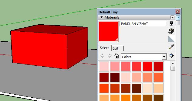Tutorial Cara Menggunakan VISMAT di Vray SketchUp